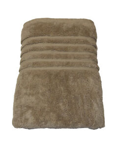 Hotel Collection Bath Towel Dune Taupe Brown 100% Micro Cotton