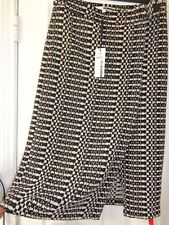 Tracy Reese women skirt tweed Gray Black NWT size 8