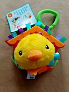 Fisher Price Jingle Birdie Dangle Vibrating Bells Soft Hanging Toy for Babies