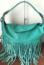 Sky Blue orYANY Chelsea Hobo Bag W//Fringe