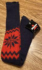 Vtg Wigmam Sno Flake Socks 85% Wool 25% Nylon Sz 8.5- 11 Made In USA