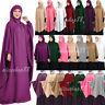 Burqa Muslim Women Hijab Dress Overhead Prayer Arab Abaya Kaftan Khimar Clothes