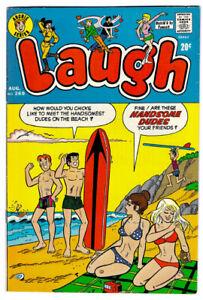 LAUGH #269 in FN/VF- condfition a 1973 Bronze Age Archie comic