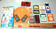 Vintage sewing needle kits, variety of 10 diff brands, great collectible group