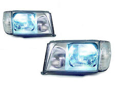 Bi-Xenon HID Euro Glass Headlight+Corner +Wire For 1994-95 Mercedes W124 E Class