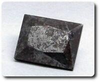 Namasilite + Braunite . 2.88 ct. Cerchiara Mine, Liguria, Italie. Rare