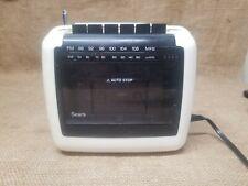 Vintage Sears 572 Portable Am/Fm Radio Cassette Player