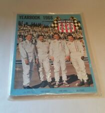United States Auto Club Yearbook1968 AJ Foyt Bobby Unser Mint In Sealed Bag