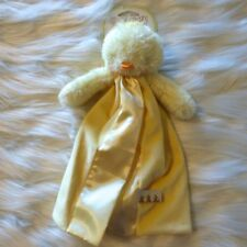 BUNNIES BY THE BAY CARROTS YELLOW CHICK LITTLE BUDDY BLANKET NEW NWT #100489