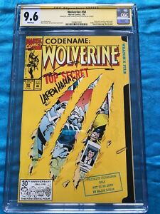 Wolverine #50 - Marvel - CGC SS 9.6 NM+ - Signed by Marc Silvestri, Larry Hama