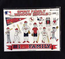 St. Louis Cardinals Spirit Family Decals NEW car/truck window - Set of 17