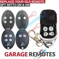 New Garage King RBT02B Keyring BFT Mitto Roller Door Gates Remote Transmitter