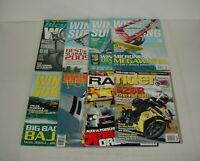 Lot of 8 Assorted Sports Wind Surfing Magazines 1986 to 2017