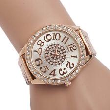 Superbe Montre Quartz Chic Pour Femme Beau Cadran Bracelet Métal PROMO
