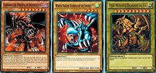 The Winged Dragon of Ra +Guardian of Fortress 1 + Gandora Dragon +Gazelle yUGIOh