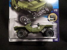 HW HOT WHEELS 2017 HW SCREEN TIME #1/10 UNSC WARTHOG GREEN HOTWHEELS VHTF HALO