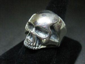 DICE Japanese Biker Skull Men's ring size 12.75-13