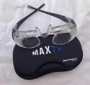 ESCHENBACH MAX TV LOW VISION 2.1 X MAGNIFICATION TV GLASSES MADE IN GERMANY