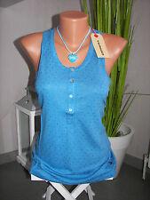 ALPRAUSCH Multicolore VRONI Taille L Bleu Top Femme Nouveau