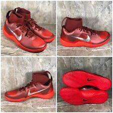 Nike Women's Size 11 Flare LG QS Serena Williams Red Metallic Silver 852763-600
