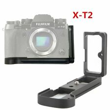 Quick Release L Plate Bracket Hand Grip for Fujifilm Fuji XT2 X-T2 Camera DSLR