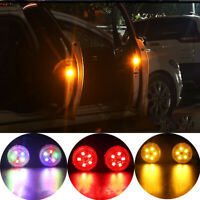 1Pc Safety Car Door Reflector Anti-Collision Warning LED Flashing Lamp Acc Tool