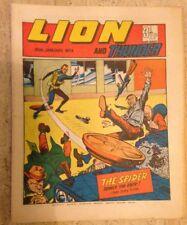 LION AND THUNDER UK COMIC. 20th January 1973. FREE UK POSTAGE.
