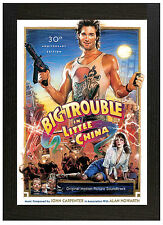 A3 Framed Poster Big Trouble in Little China Picture