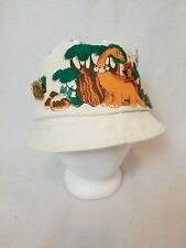 Russia Japan Souvenir Bucket Hat with Communist Russia Stalin Pins