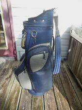 Bag Boy Staff/Cart Golf Bag 11 Zippers & Rain Cover Nice