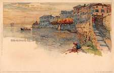 Belgirate Italy Lago Maggiore Antique Postcard J46472