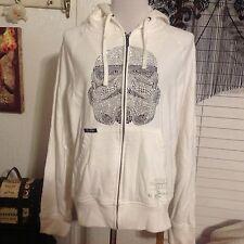 Marc Ecko Star Wars Embellished Stormtrooper Hoodie Jacket men's Size Medium LN