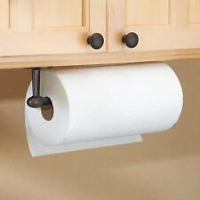 Paper Towel Holder Kitchen Wall Under Cabinet Mount Bronze