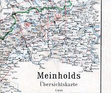 Altenberg Bienenmühle Teplice 1910 orig. Teil-Karte Ústí nad Labem Brüx Aussig