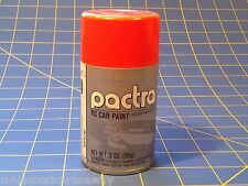Pactra RC256 Competition Orange Lexan Spray Paint 1/24 Slot Car RC Mid America