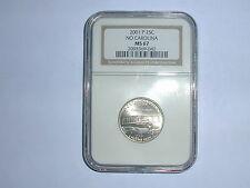 2001-P 25C No. Carolina State Quarter NGC MS 67