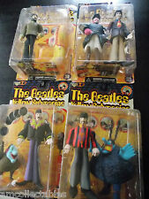McFARLANE BEATLES YELLOW SUBMARINE 4 FIGURINE SET VARIANT FRED JOHN LENNON