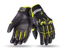 Guantes de moto seventy degrees SD-N32 naked negro-amarillo talla M