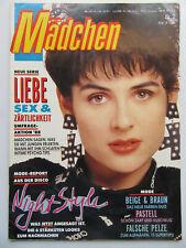 Mädchen Nr 2/1988, Vanessa Paradis, Madonna, Sabrina Salerno, Silvia Seidel,