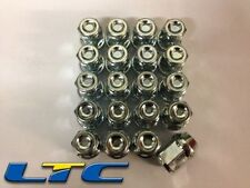 """Set of 20*  1/2 """" UNF Tapered Alloy Wheel Nuts for Aftermarket Wheels"""