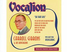 CD CARROLL GIBBONS & HILDEGARDE oh that kiss VOCALION ex+ 1998