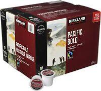 Kirkland Signature Organic Pacific Bold Dark Roast Coffee K-Cups - 110 Count