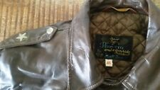 Mens Vtg 50s SCHOTT PERFECTO Steerhide Black Label Motorcycle One-Star Jacket 46