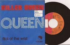 """SP 7"""" QUEEN - Killer Queen -  EX/EX - EMI - 4 C 006-96060 - BELGIUM"""