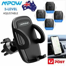 MPOW Air Vent Car Phone Mount Holder Stand Adjustable Clamp for iPhone X 8 8s 7