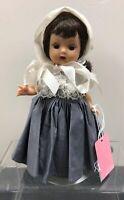 "7"" Vintage Nancy Ann Doll Muffie Straight Leg Walker 1961 All Original AdorableS"