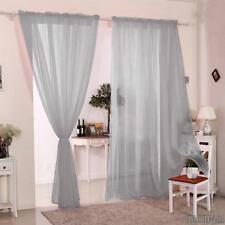 Grey Curtains And Blinds Ebay