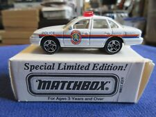 Matchbox Nassau County Police NYPD ASAP Ford Crown Vic Special Limited Edition
