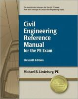 Civil Engineering Reference Manual for the PE Exam Michael R. Lindeburg