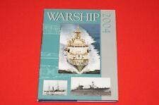Warship 2004 Hardcover Book Martin Robson Stephen Dent Brand New